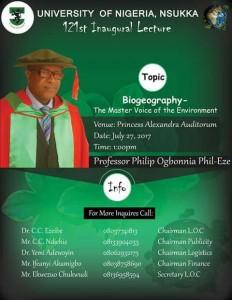 Prof Phil Inaugural